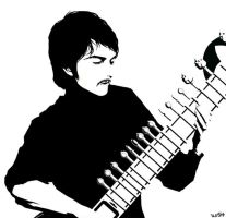 George with Sitar by wish114