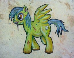 My Liitle Zombie Pony by bigcas61