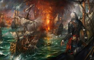 Assassins Creed IV Black Flag fanart by haryarti