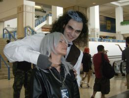 Metrocon '08: Riku and Sweeny by Rose-Vicious