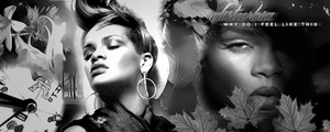 Rihanna signature gif by Miss-Chili