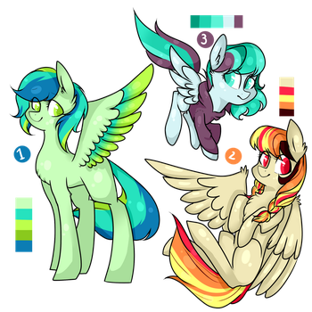 Pegasus Adopts [CLOSED] by TheCreativeRey