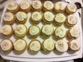 Confetti Cupcakes by wickedwitchinc