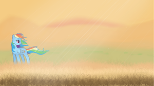 Rainbow Dash wallpaper by KarmaDash