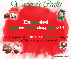 Extended Cyber Monday Sale 2013!! by SeangelSaph