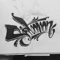 Salomon Calligraphy - Unfinished by bakeroner