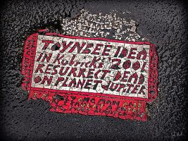 Toynbee Idea (15th and Chestnut) by barefootphotography