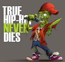 HIPHOP NEVER DIES by ARTOON