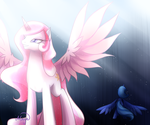 Long was her shadow she cast... by LethalAuroraMage