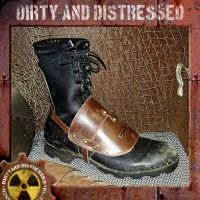 Wasteland Foot Guard by DirtyandDistressed