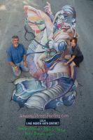 Overhead at Lake Worth Street Painting Festival by AmazingStreetPaint