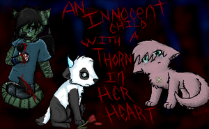 Thorn in my heart --Collab by Wolfy-Artist