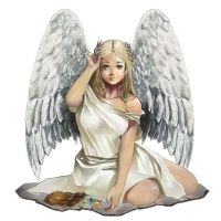 The Angel by Vandrell