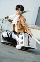 AoT-Shingeki no Kyojin - Levi Rivaille by xShadow-Lightx