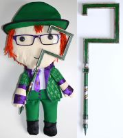 Mini Riddler's Cane by Geemaa-pix
