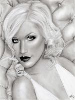 Portrait: Christina Aguilera by TouchOfAutumn