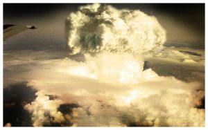 Nuclear cloud by remousse