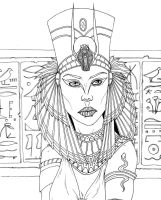 Egyptian Queen - Preview Unlocked on Kickstarter by indigowarrior