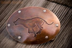 Pit Bull Belt Buckle by rgyoung