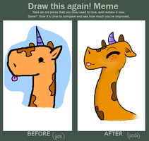 Before and After. by iGingie