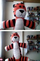 Plushie Hobbes by whosname
