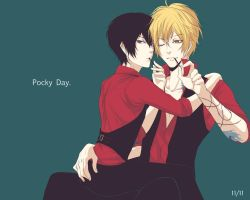 DH: Pocky Day. by SnakeyHoHo