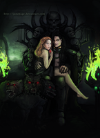 Hades and Persephone by JunePage