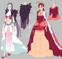 0 - Drawing contest - 2nd Place Prize - Designs by rika-dono