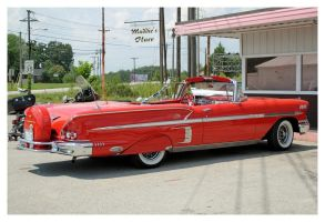 1958 Impala Convertible by TheMan268