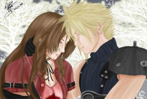 Aerith Will No Longer Laugh, Cry or Get Angry by SassyLilPanda