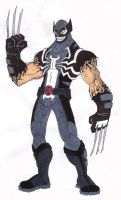 Venom Wolverine by Kelden17