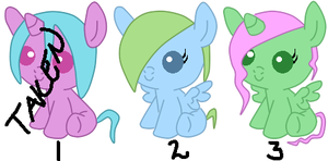 Baby Pony Adopts [Open~] by ShugoGurl