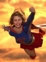 Supergirl by DahriAlGhul