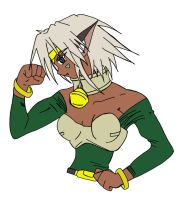 Aisha Clan Clan second form by tsukasasign
