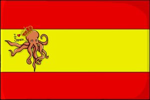 _New_Flag_Spain_Octopus_Paul_ by Hatake-Sara11