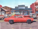 The Life Story Of A 1970 Chevy Chevelle (Part 33) by FastLaneIllustration