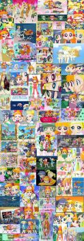 PowerPuff Girls Z Fan Collage by MarieAngel04