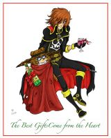 Harlock Holiday Cheer by halflingsera