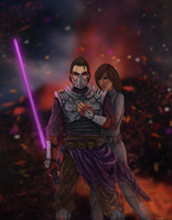 Star Wars Old Republic Commission by thesadpencil