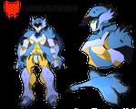 Transformers- Beast Wars Future- Windrunner by NickinAmerica