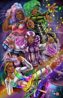 Black Girl Magic by WiL-Woods