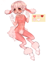 pink lamb adopt [closed] by loveamo