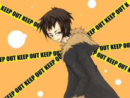 Durarara-Keep Out by redricewine