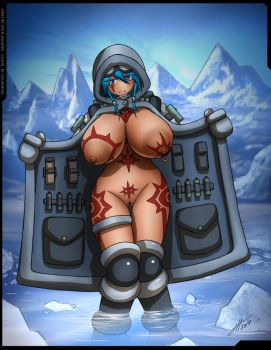 Ice Cold Eskimo Girl by Gold-Paladin