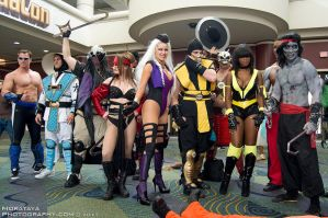 Mortal Kombat - Megacon 2011 by Morataya