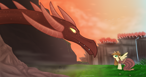 something here about a dragon... by Isa-Isa-Chan