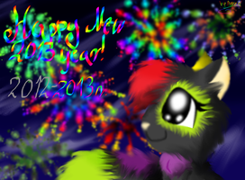 Happy New 2013 Year! by AgraelLPS