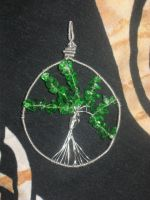 Tree of Life Pendant by WillowForrestall
