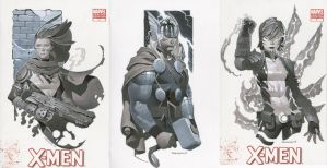 Sketch Covers 8 Thru 10 by ChristopherStevens