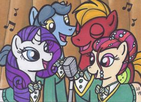 ACEO - You're Gonna Find the Music in You by cyberhare
